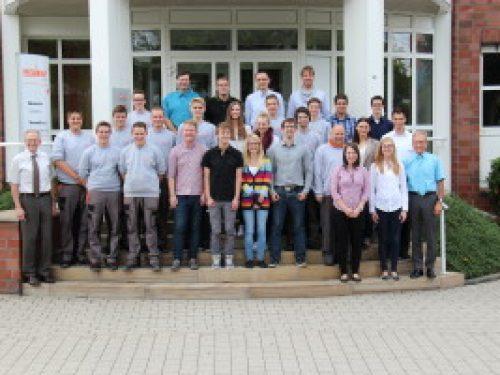 Ausbildungsstart der Weber-Azubis 2014