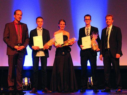 Weber Talenteers Award 2015 für hervorragende MINT-Leistungen
