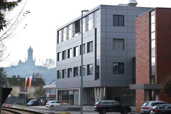 Unser neues Verwaltungsgebäude